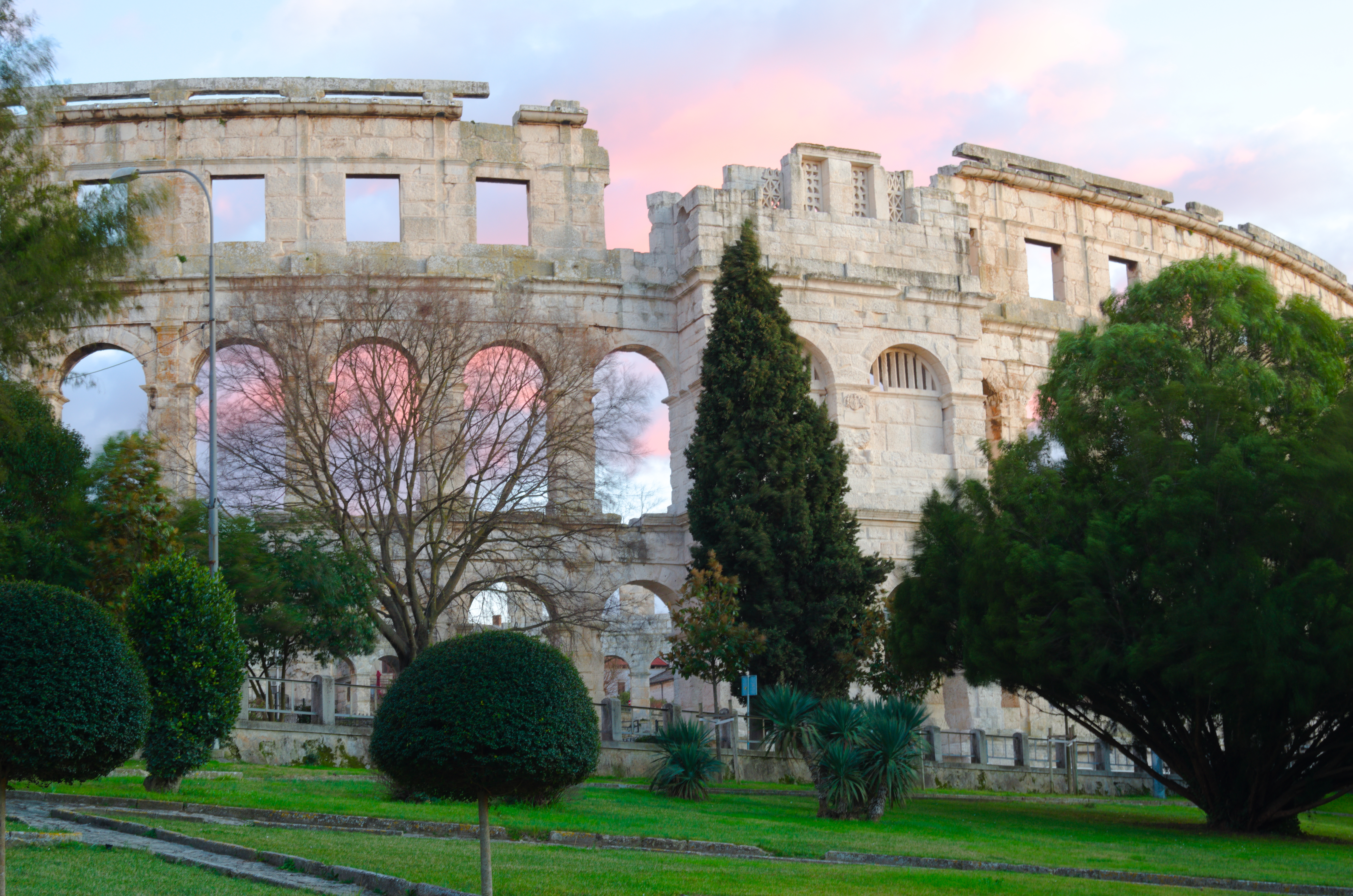 Pula, the Roman Amphtheater